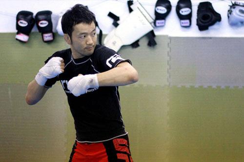 オファーがあれば誰とでも。総合格闘家の面目躍如! | アライブ真狩・蔵田圭介さん