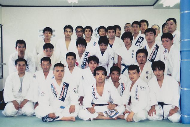 柔術練習会、中井氏、若林氏も