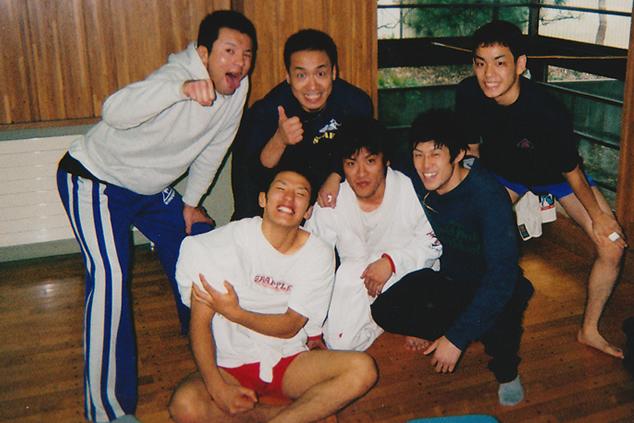 函館フリーファイトで加藤選手と