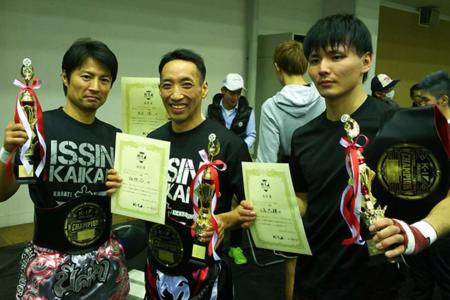 一信会館が3階級を制覇 | 第5回K-1アマチュア全日本大会